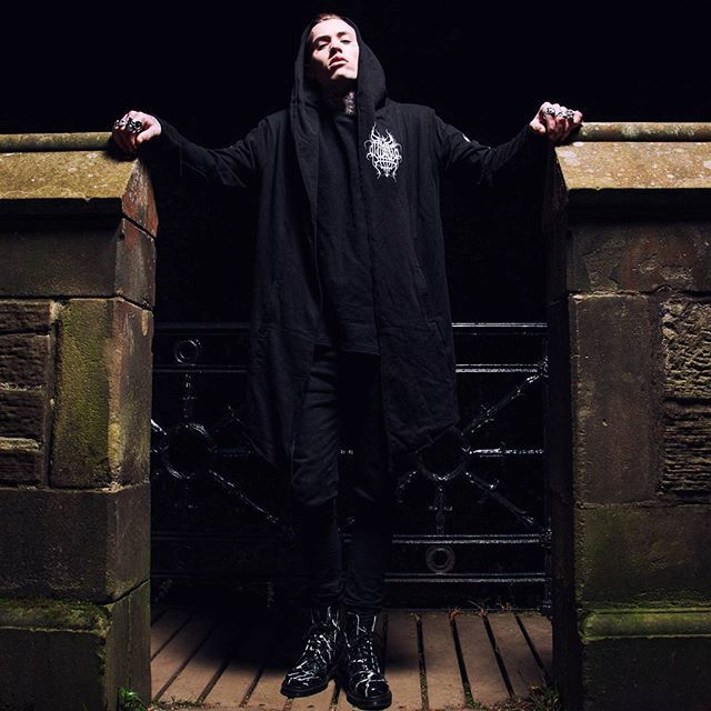 "CRMC X @vividblackartistry X @viewfromthecoffin ""TEM.ple O.mnium H.ominum P.ads AB.ba"" Robe Available at www.crmc-clothing.co.uk | WE SHIP WORLDWIDE Models - @ryan_davieshall Photography - @adrianianmcnab #darkwear #hood #blackwear #hoodie #freemasonry #altfashion #alternative #instafashion #fashionstatement #fashiongram #fashionista #instastyle #stylegram #raglan #menwithtattoos #winter #winterfashion #styles #style #alternativeguy #alternativeboy #alternativegirl #alternat"