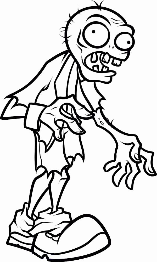 Zombies Disney Coloring Pages in 2020   Halloween coloring ...