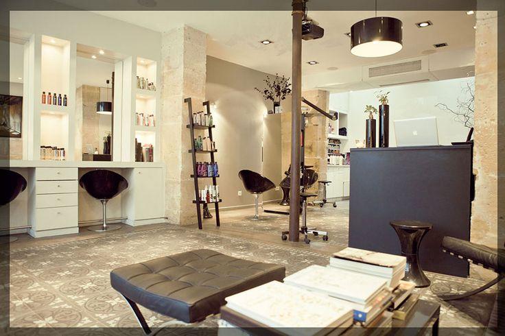 Zazen paris salon de coiffure salons coiffure for Pareti salone