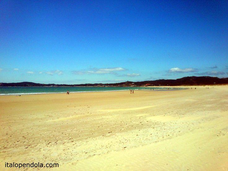 A #Lanzada beach, Pontevedra. One of the most wonderful beaches in #Galicia Rias Baixas.