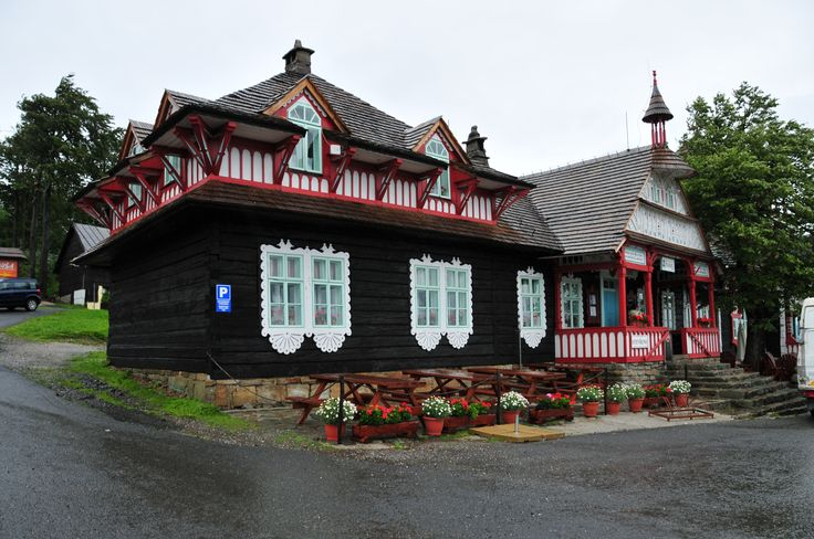 traditional ' Jurkovic' houses Czech