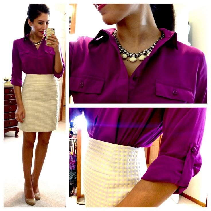 I love this color - a top, blazer, sweater, dress.  My favorite color for clothing!
