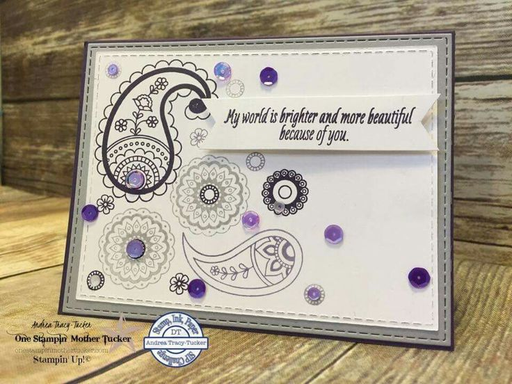 Stampin' Up! Paisleys and posies