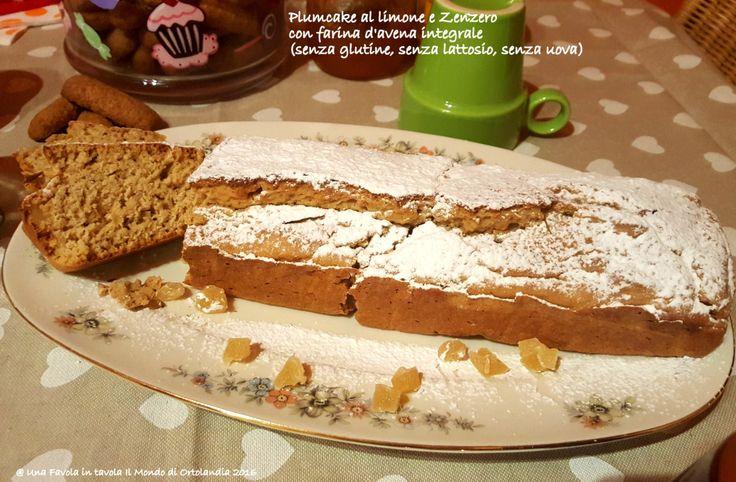 """La Farina d'avena è un alimento fantastico che ci aiuta a mantenere la linea, specialmente se integrale e perfetta consumata a colazione. Oggi sul blog per la Rubrica del Martedì """"Bellissime Mamme"""" ve ne parlo e vi propongo un delizioso Plumcake #senzaglutine #senzauova e #senzalattasio al profumo di #limone e con #zenzero candito, per iniziare la giornata in modo sano e con gusto!"""