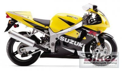 2001 Suzuki GSX-R 600 specifications and pictures