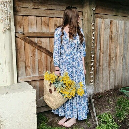 Boho maxi dress ANKOA