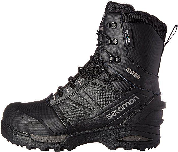 huge discount e7e0c 54f06 Salomon Herren Winterschuhe, Black, 40 EU: Amazon.de: Schuhe ...