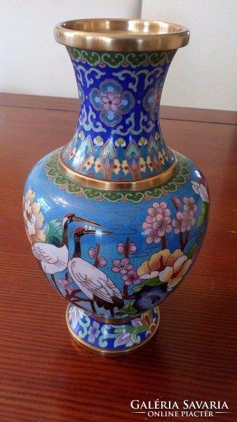 Kézzel festett váza