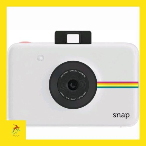 Polaroid Snap Instant Print Digital Camera ZINK Zero Ink Tech Touch NEW - White