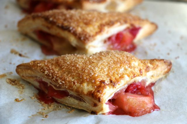 Apple and Raspberry Turnovers   Add More Butter