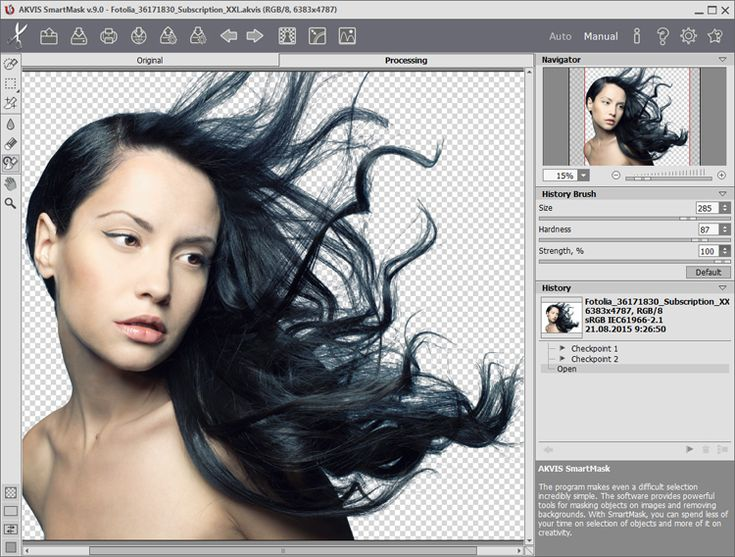 The latest version of the SmartMask cross-platform Photoshop plugin and standalone application for creating masks adds a Chroma Key feature, a Custom Background mode and numerous enhancements.