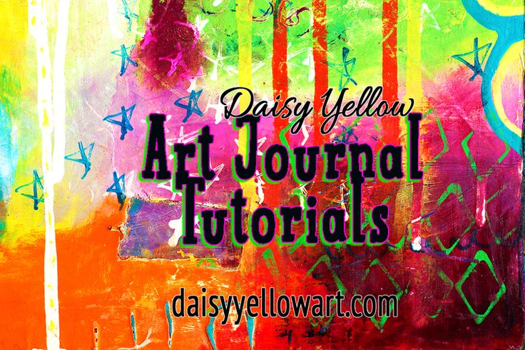 Welcome to Art Journal Tangents, a series of video techniques, tutorials & creative prompts to kick-start your art journal pages! However you want to define art journaling, it's definitely an art form that is loose & unstructured. The goal is to work|play in your journal rather than to focus on the perfect end result.