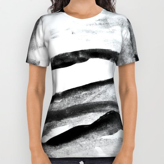 Fog Landscape All Over Print Shirt