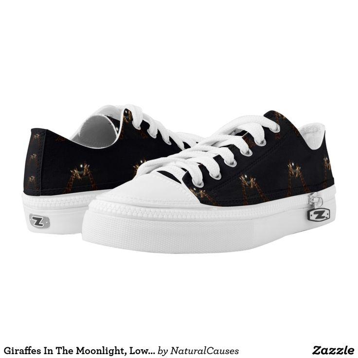 Giraffes In The Moonlight, Lowop Zipz Sneakers