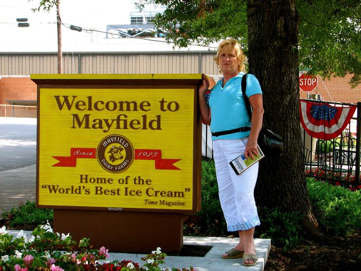 https://flic.kr/p/Y7kHrC | Mayfield Ice Cream Athens, Tn ~Sandra | Mayfield Ice Cream 806 E Madison Ave Athens, Tn