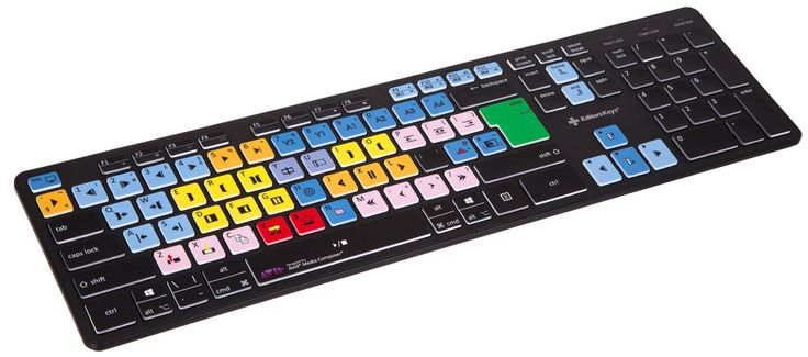 Avid Media Composer Wireless Slimline Keyboard | Media Market