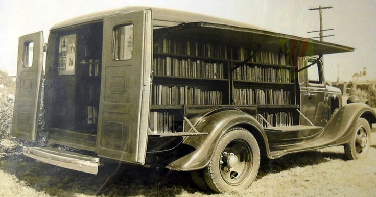 Before Amazon, We Had Bookmobiles: 15  Rare Photos Of Libraries-On-Wheels