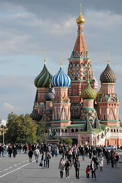 The Cathedral of Saint Basil the Blessed, Moscow