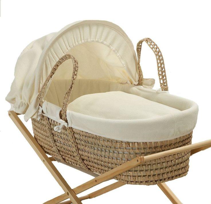 Baroo - Capazo para bebé, color crema (capazo, moises)  NUEVO