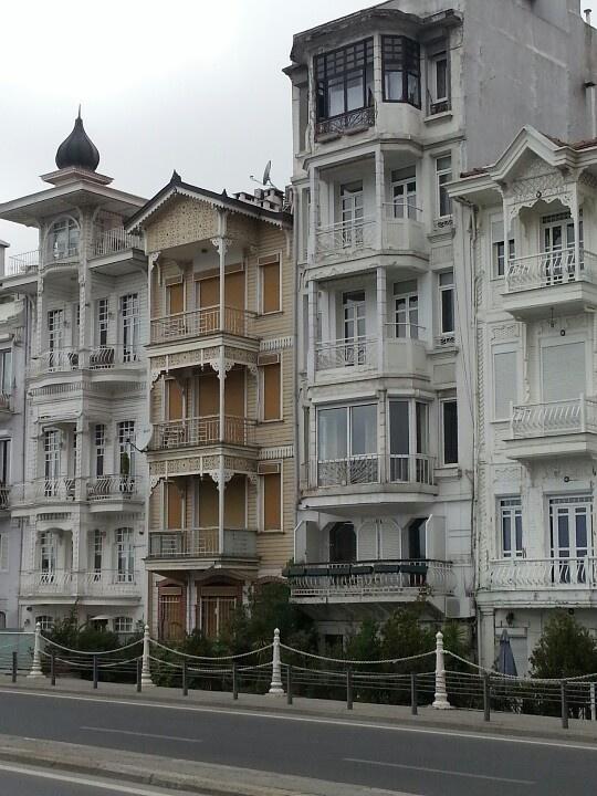 Traditional Wooden Houses, Arnavutkoy, Turkey
