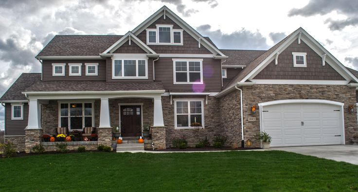 The 25 best craftsman exterior colors ideas on pinterest for House siding styles