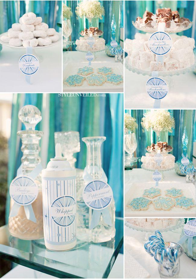 Winter Wedding Ideas #turquoise #wedding #details