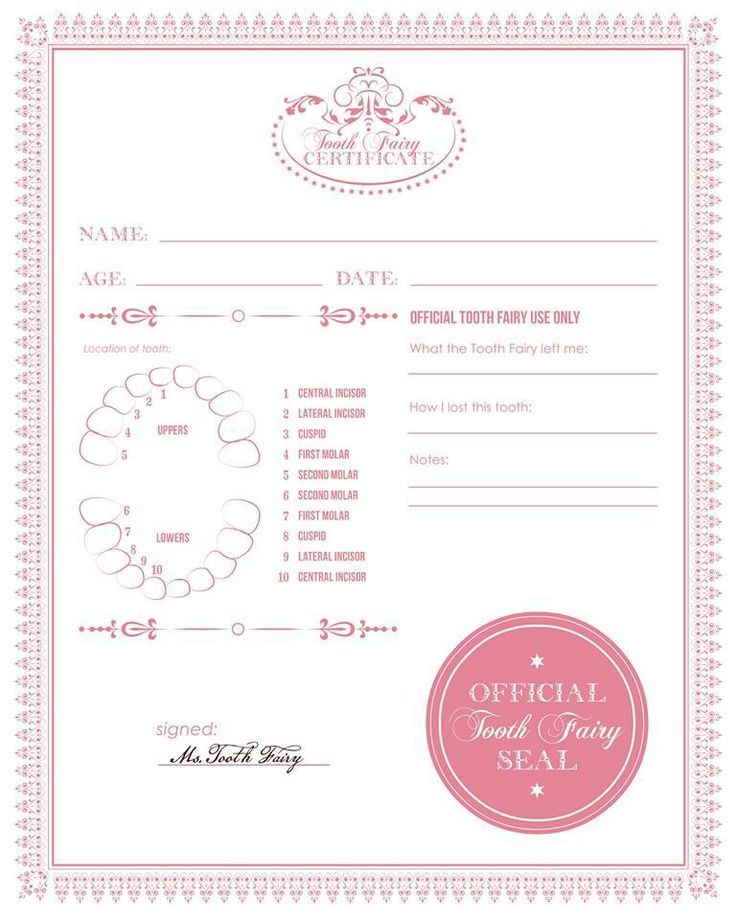 25 best ideas about tooth fairy note on pinterest tooth for Free printable tooth fairy certificate template