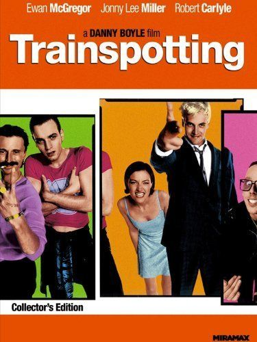 Trainspotting (1996) - DVD: http://blankrefer.com/?http://www.amazon.com/Trainspotting-Ewan-McGregor/dp/6304806442%3FSubscriptionId%3DAKIAIXTWTDPTWEJV5FGA%26tag%3Dja07-20%26linkCode%3Dxm2%26camp%3D2025%26creative%3D165953%26creativeASIN%3D6304806442