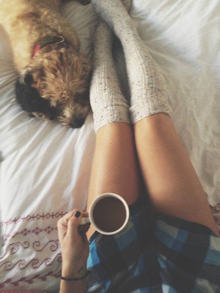 Cozy lazy days at home☕️