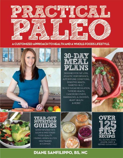 "Practical Paleo explains why avoiding both processed foods and foods commonly marketed as ""healthy"" – like grains, legumes, and pasteurized dairy – will improve how you look and feel and lead to lasting weight loss. Even better – you may reduce or completely eliminate symptoms associated with common health conditions!"
