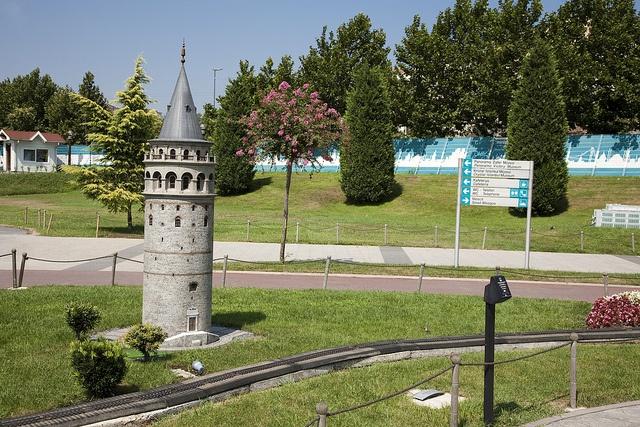 Galata Tower at Miniaturk