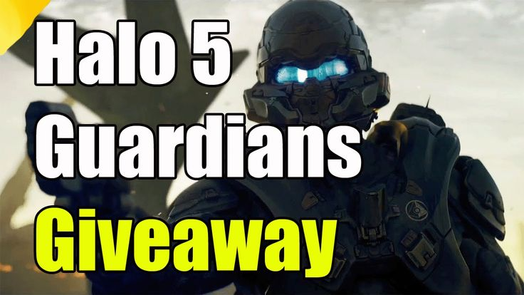 "Halo 5 Guardians Giveaway ""Halo 5 5 Giveaway"""