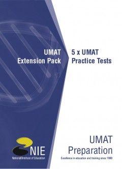 UMAT Extension Pack: 5 x UMAT Practice Tests