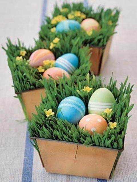 Zdjęcie 12 - Wielkanocne dekoracje – 35 dekoracji z kwiatów - serwis o waszych ogrodach