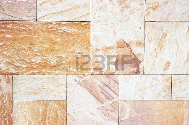 Mattonelle di granito beige con motivo naturale Archivio Fotografico - 17115010