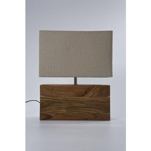 Kare design :: Lampa stołowa Rectangluar Wood Nature