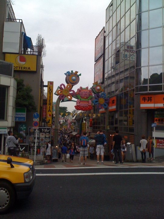 Harajuku, One of my favorite places on earth!