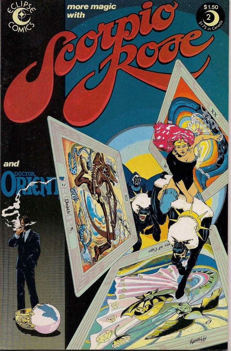 eclipse comics SCORPIO ROSE 2 Steve Englehart Marshall