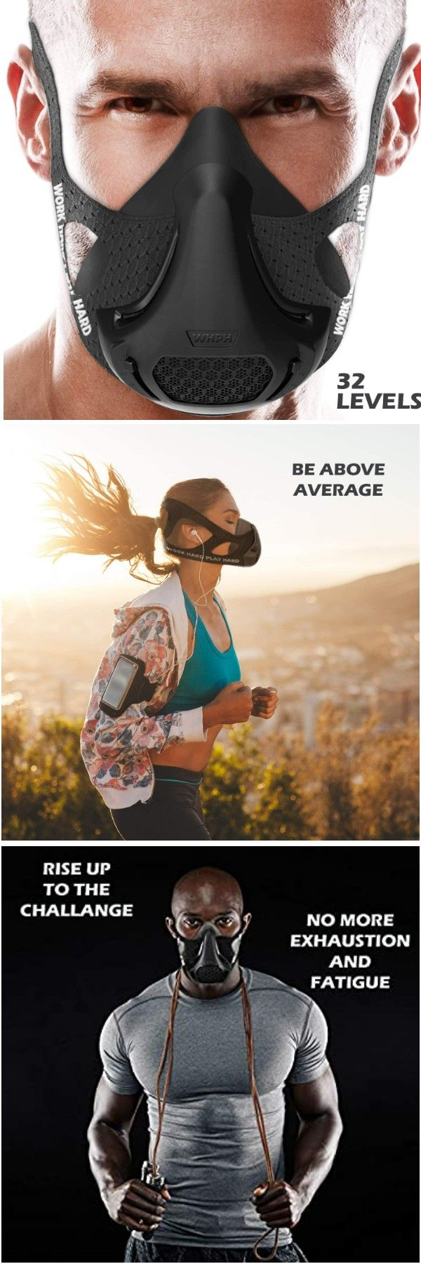 VO2MAX Training Mask Workout High Altitude Elevation