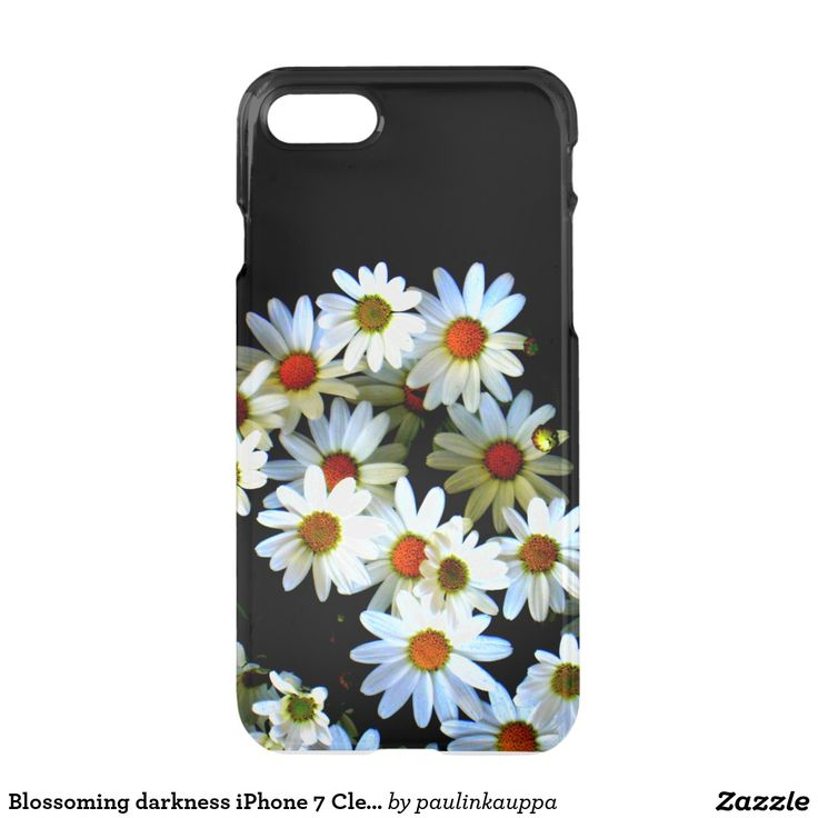 Blossoming darkness iPhone 7 Clearly™ Deflector iPhone 7 Case