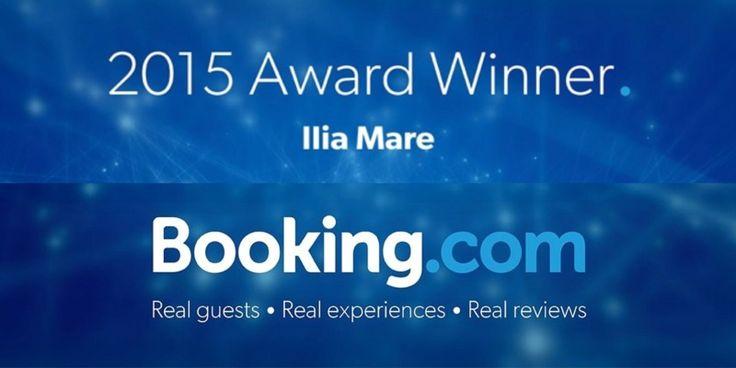 Award Winner 2015 το Ilia Mare Hotel στο Booking.com! - http://www.ilia-mare.gr/award-winner-2015-to-ilia-mare-hotel-sto-booking-com Είμαστε στην ευχάριστη θέση να σας ενημερώσουμε ότι κερδίσαμε το Guest Review Award στην Booking.com για το 2015! Είμαστε υπερήφανοι για την μέση βαθμολογία σχολίων 9,4 κι'αυτό χάρη σε εσάς τους επισκέπτε�