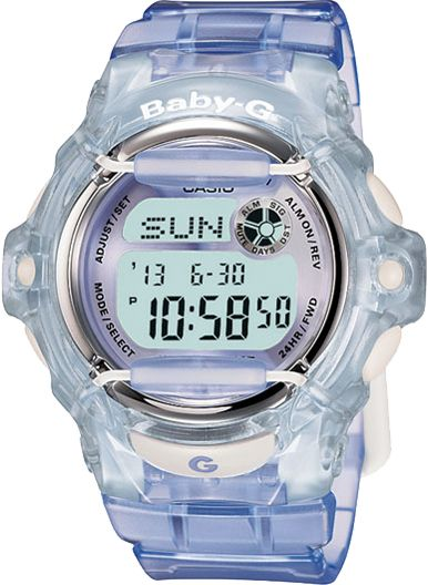 This Baby-G watch is perfect for the sporty girl who still cares about her style!