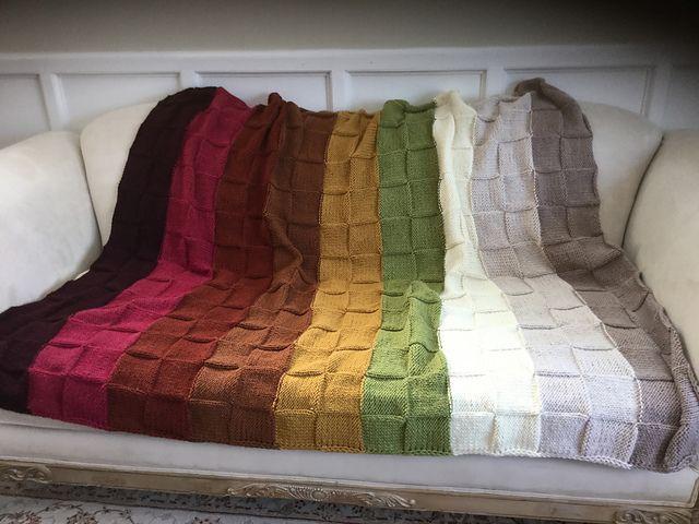 Basket Weave Afghan