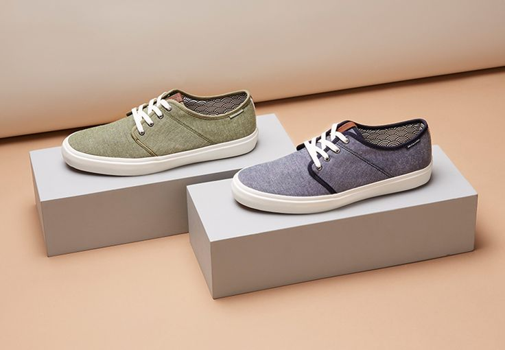 Casual sneakers in spring colours. Comfortable and easy to style | JACK & JONES #sneaks #footwear #men #trainers