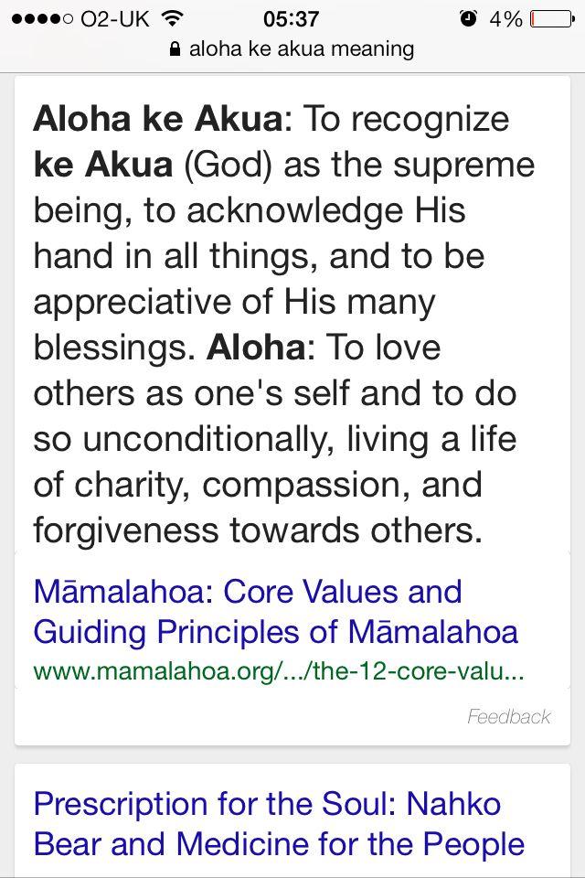 "My new tattoo ""aloha ke akua"" | Nahko | Pinterest"