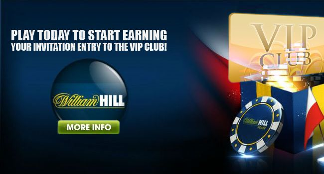 At William Hill we take pride in looking after our customers and offer the best service. Our most loyal members are invited to join the exclusive William Hill Casino VIP Club and benefit from a wide range of special promotions and bonus offers, as well as higher Comp Points conversion rates.