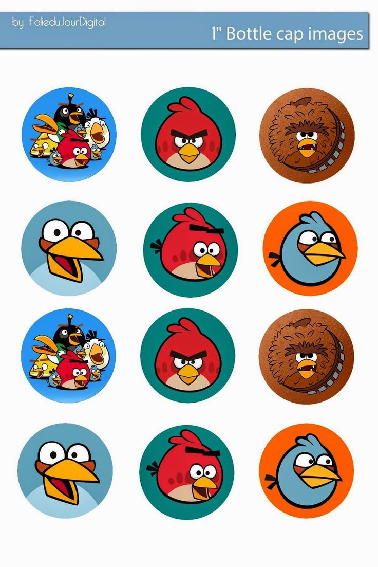 Folie du Jour Bottle Cap Images: Free Digital Bottle Cap images Angry Birds
