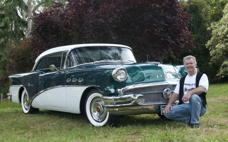 Showcasing some of the state's best and fairest American muscle cars is the annual Uraidla Hot Rod and Classic Picnic which will be held on Sunday, December 1. Photo: Brian Clifford with his restored 1956 Buick Special Riviera. Photo by Phil Martin. http://adelaidehills.realviewtechnologies.com/