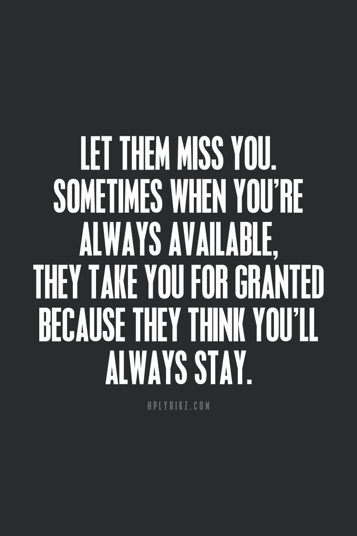 Sometimes people need to realize what life is like when youre gone. This popped up at the perfect timing!
