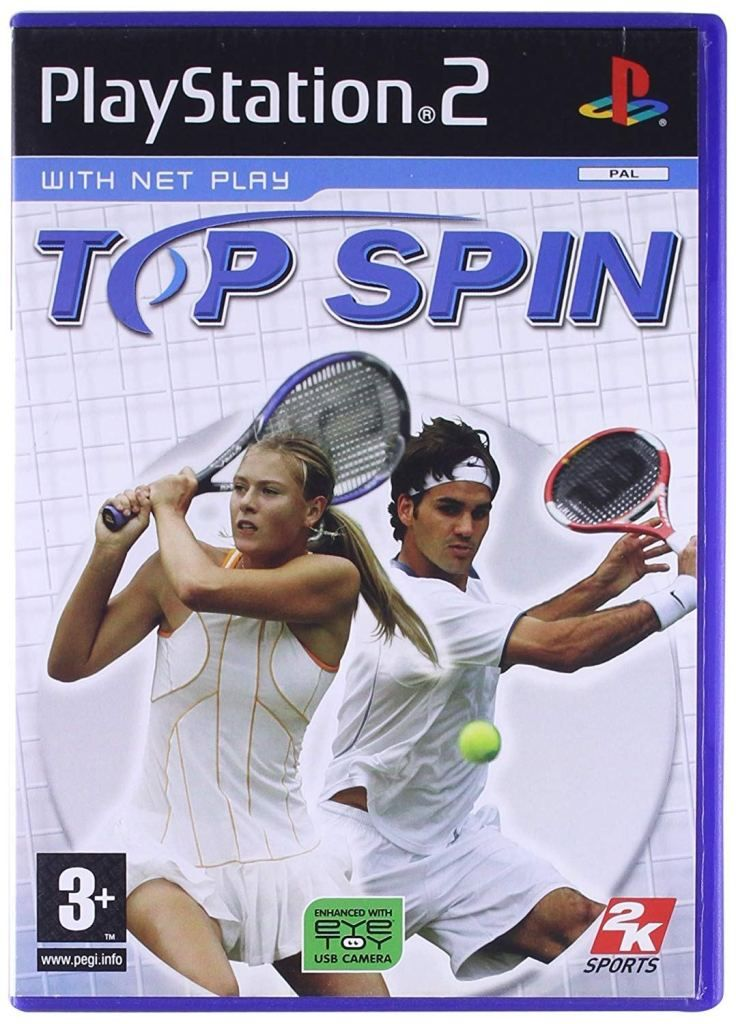 Top Spin PS2 ISO Free DownloadFree Download Top Spin PS2 ISO